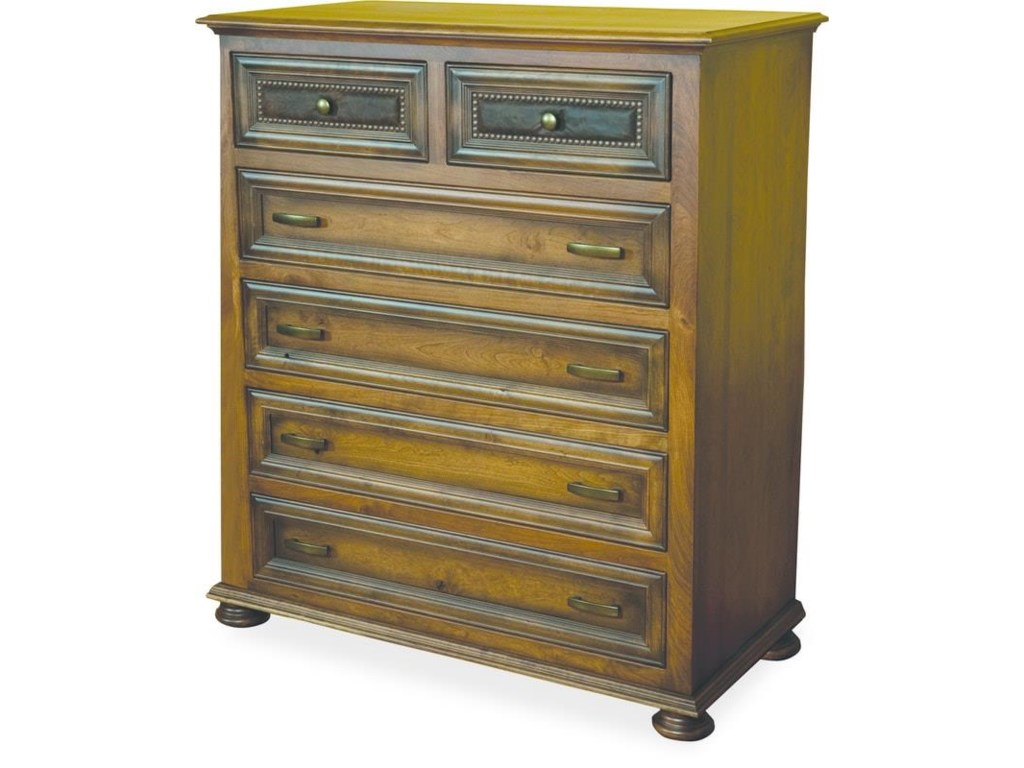 Wayside Custom Furniture Canyon Creek6 Drawer Chest