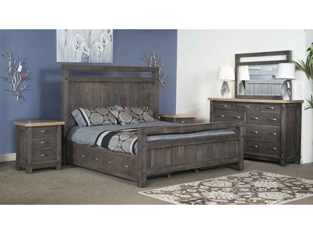 Wayside Custom Furniture Timber BedroomTimber Bedroom Group