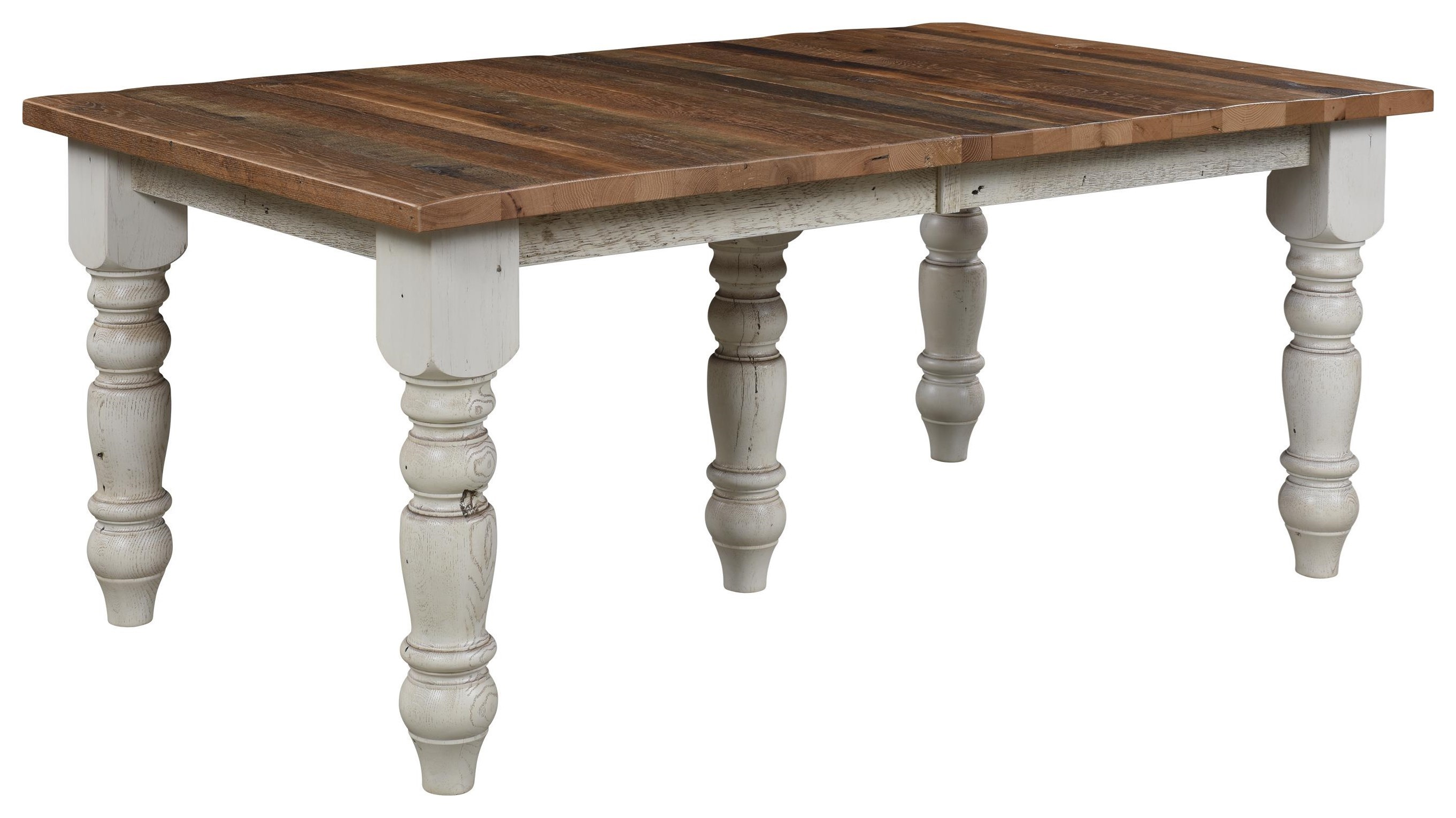 Wayside Custom Furniture Farmhouse Reclaimed Barnwood Table
