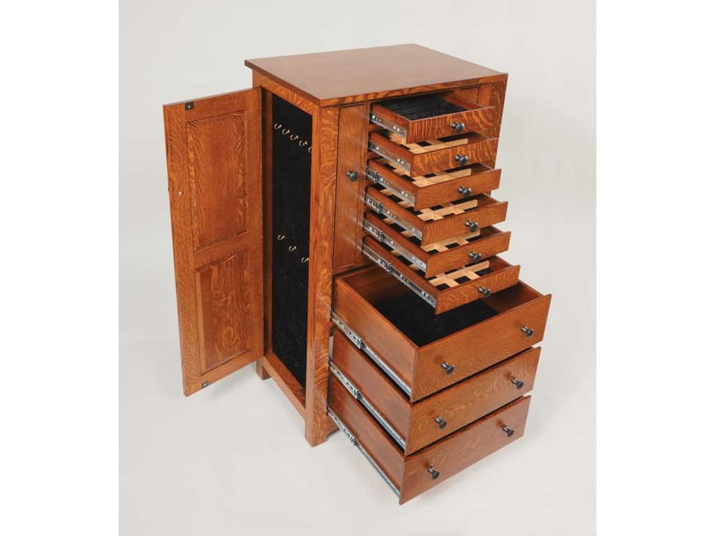 Wayside Custom Furniture Jewelry Storage48