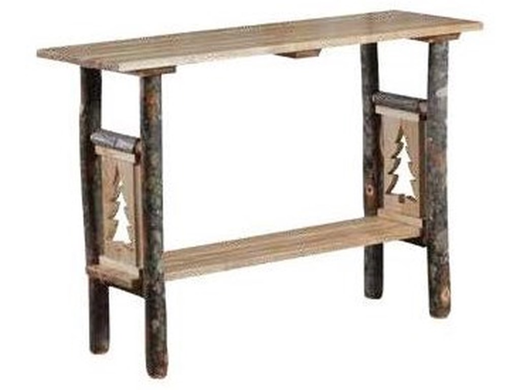 Wayside Custom Furniture Timber CreekSofa Table
