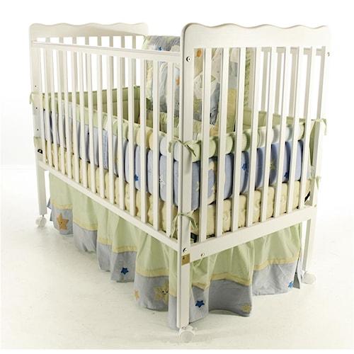 Wayside Furniture Dream On Me Crib Stationary Crib
