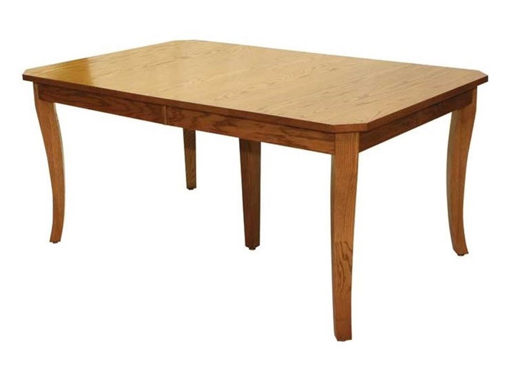Weaver Woodcraft Custom Amish DiningAustin Table