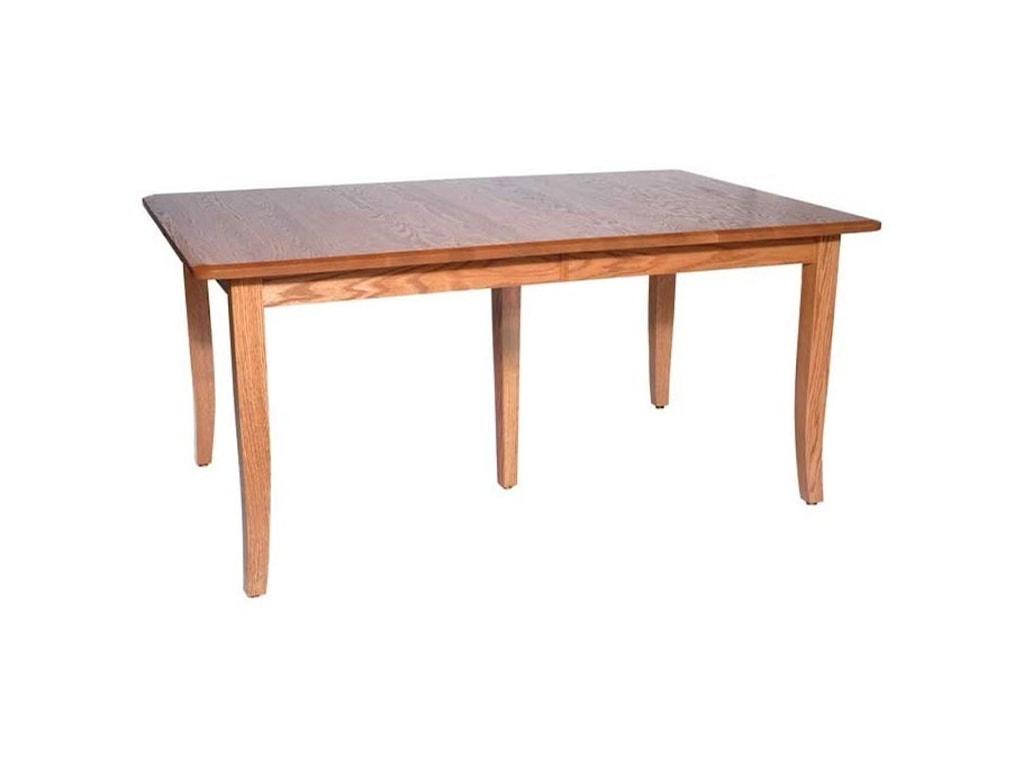 Weaver Woodcraft Custom Amish DiningBunker Hill Table