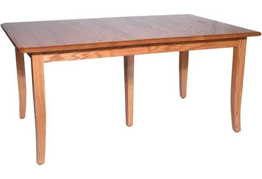 Weaver Woodcraft Custom Amish Dining Bunker Hill Table ...