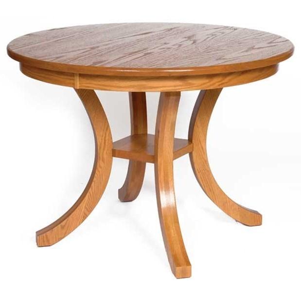 Weaver Woodcraft Custom Amish Dining Carlisle Table   Saugerties Furniture  Mart   Dining Tables