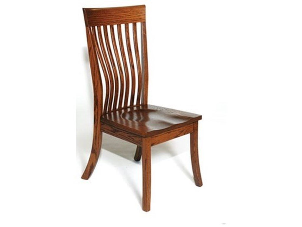 Weaver Woodcraft Custom Amish DiningChristy Side Chair