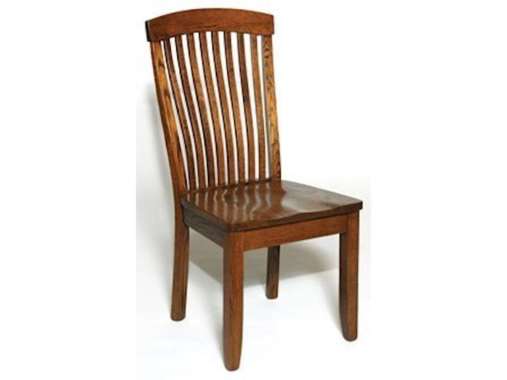 Weaver Woodcraft Custom Amish DiningEmpire Side Chair