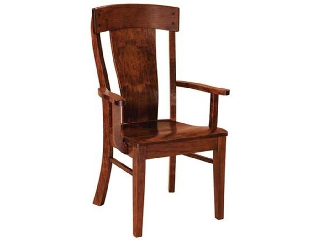 Weaver Woodcraft Custom Amish DiningLacombe Arm Chair