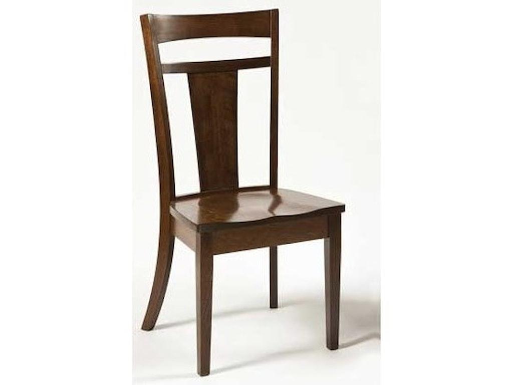 Weaver Woodcraft Custom Amish DiningLivingston Side Chair