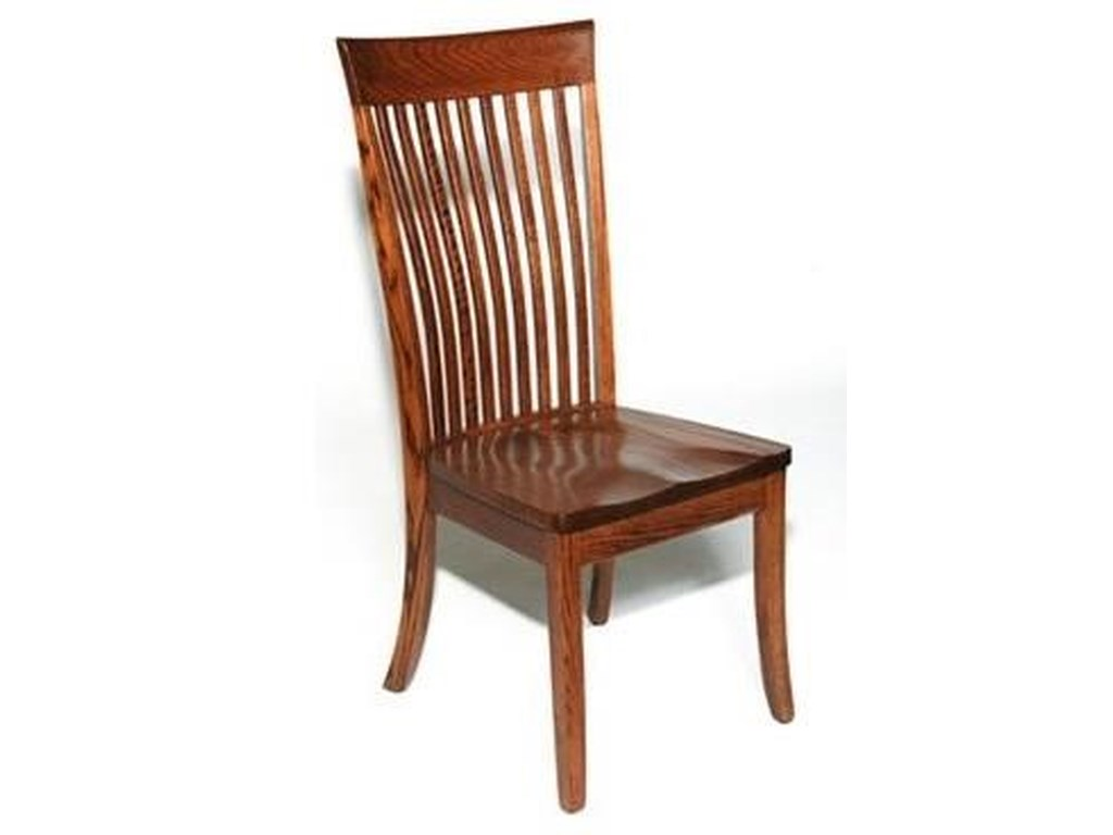 Weaver Woodcraft Custom Amish DiningOW Shaker Side Chair