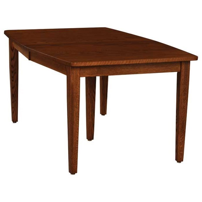 Charmant Weaver Woodcraft Custom Amish DiningStandard Leg Table ...