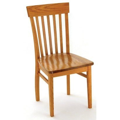 Weaver Woodcraft Custom Amish Dining Venice Side Chair   Saugerties  Furniture Mart   Dining Side Chairs