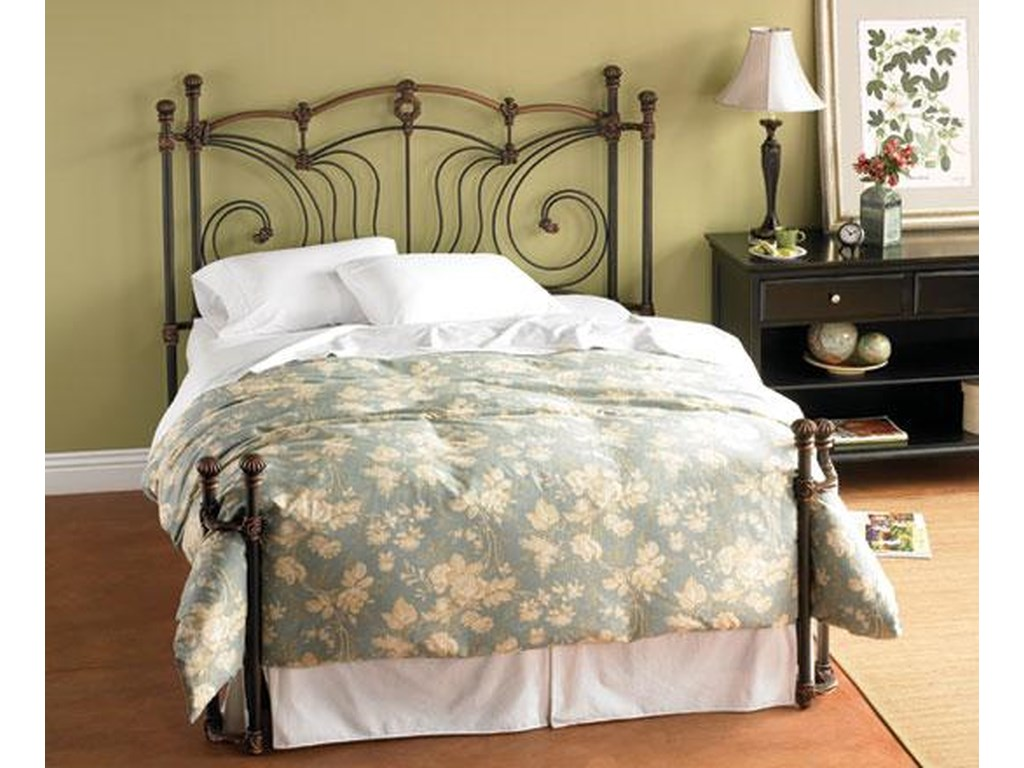Morris Home Furnishings Iron BedsKing Chelsea Iron Bed
