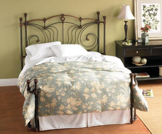 Wesley Allen Iron BedsQueen Chelsea Iron Bed