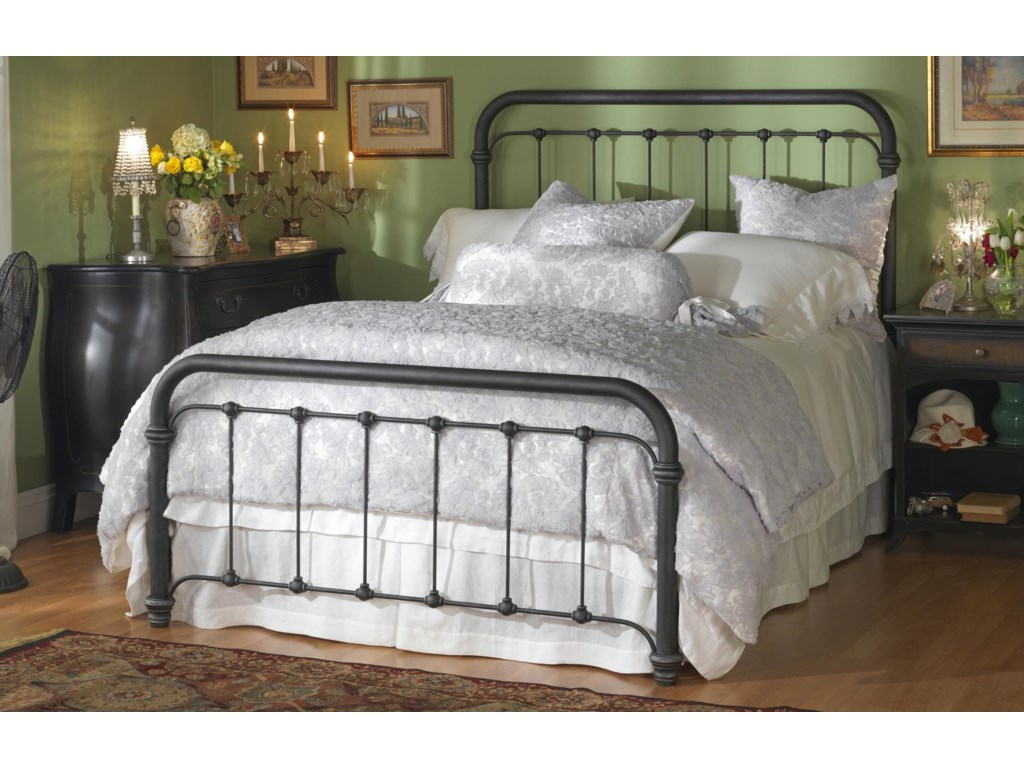 new styles 40bfb ce2dc Iron Beds Queen Braden Metal Bed by Wesley Allen at Wayside Furniture