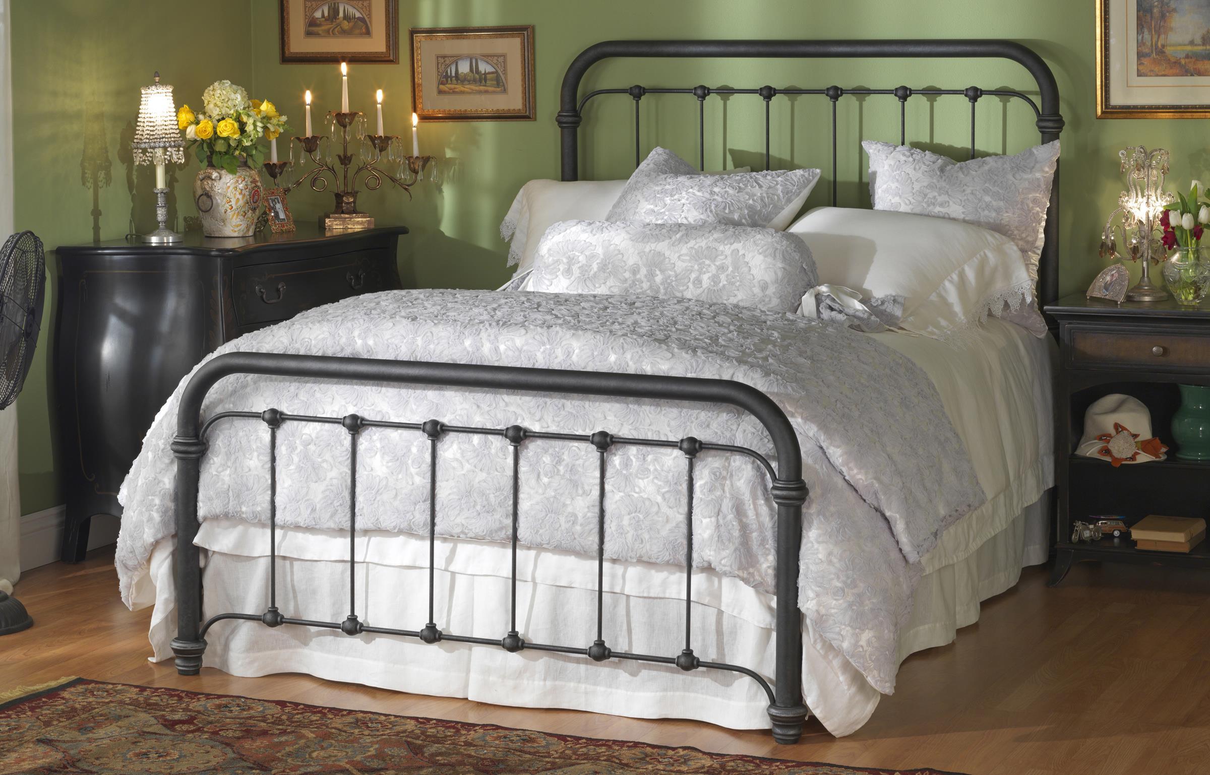 Morris Home Furnishings Iron BedsQueen Braden Bed