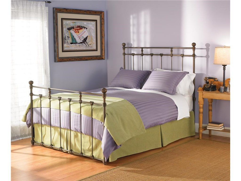 Morris Home Furnishings Iron BedsFull Sena Poster Bed