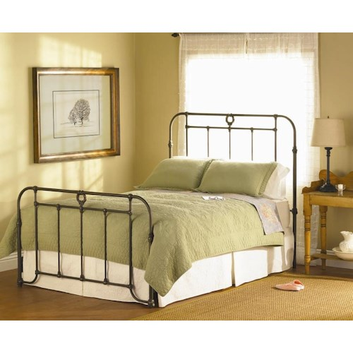 Wesley Allen Iron Beds Queen Wellington Iron Bed