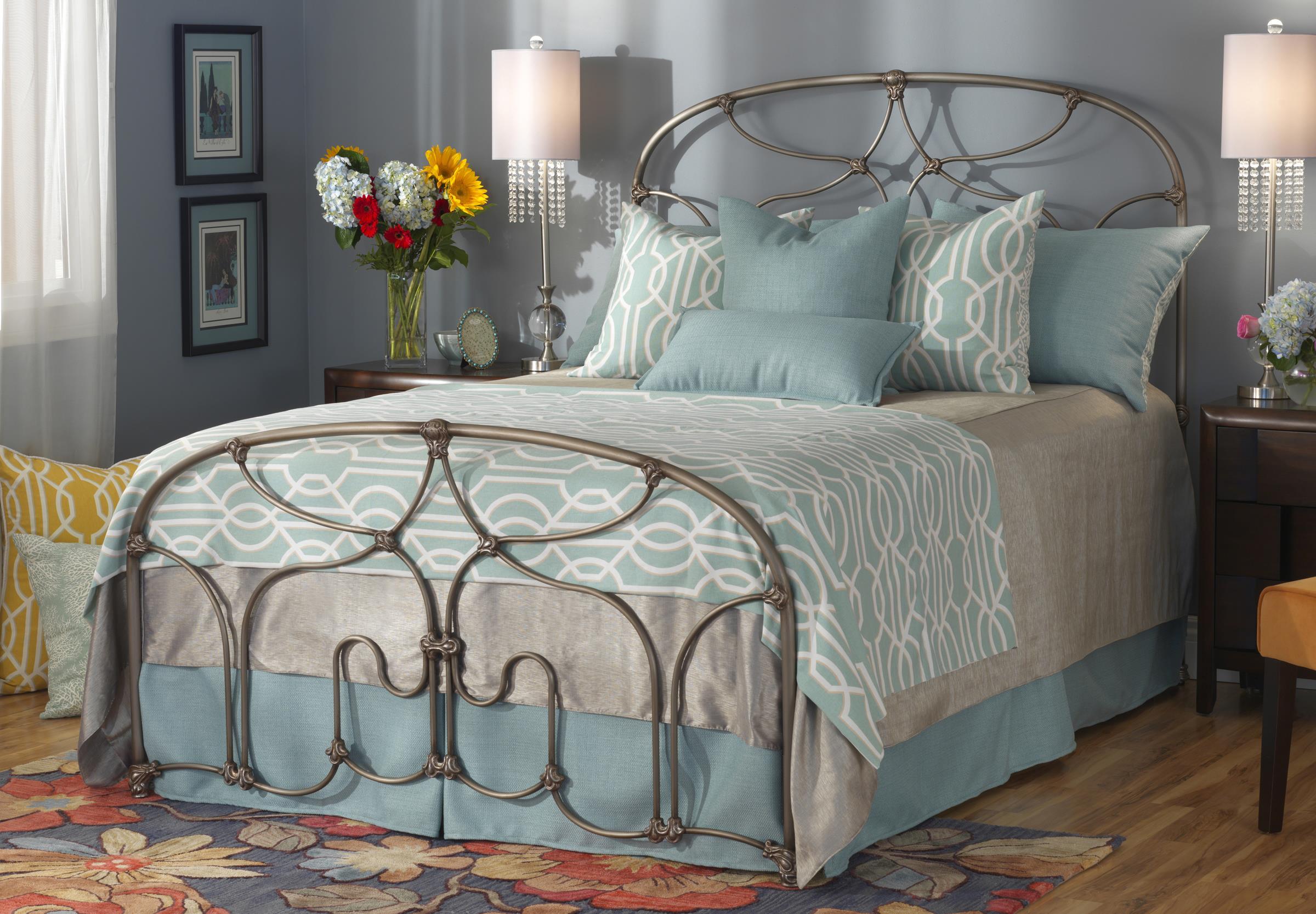 wesley allen iron beds queen lafayette metal bed