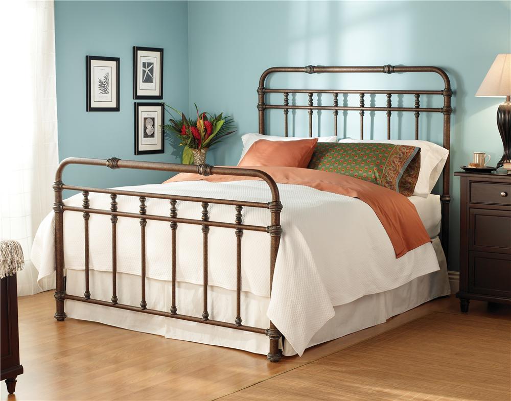 Wesley Allen Iron Beds Queen Complete Laredo Headboard And Footboard Bed