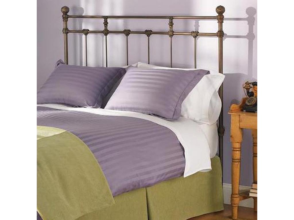 Morris Home Furnishings Iron BedsQueen Sena Headboard