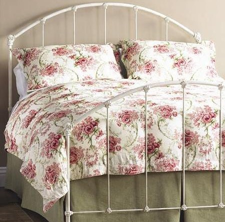 Wesley Allen Iron Beds Twin Coventry Iron Headboard