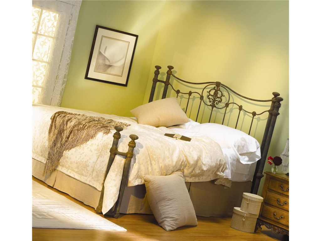 Morris Home Furnishings Iron BedsDawson Poster Bed