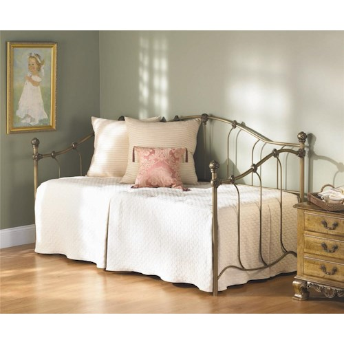 Wesley Allen Iron Beds Woodley Iron Daybed