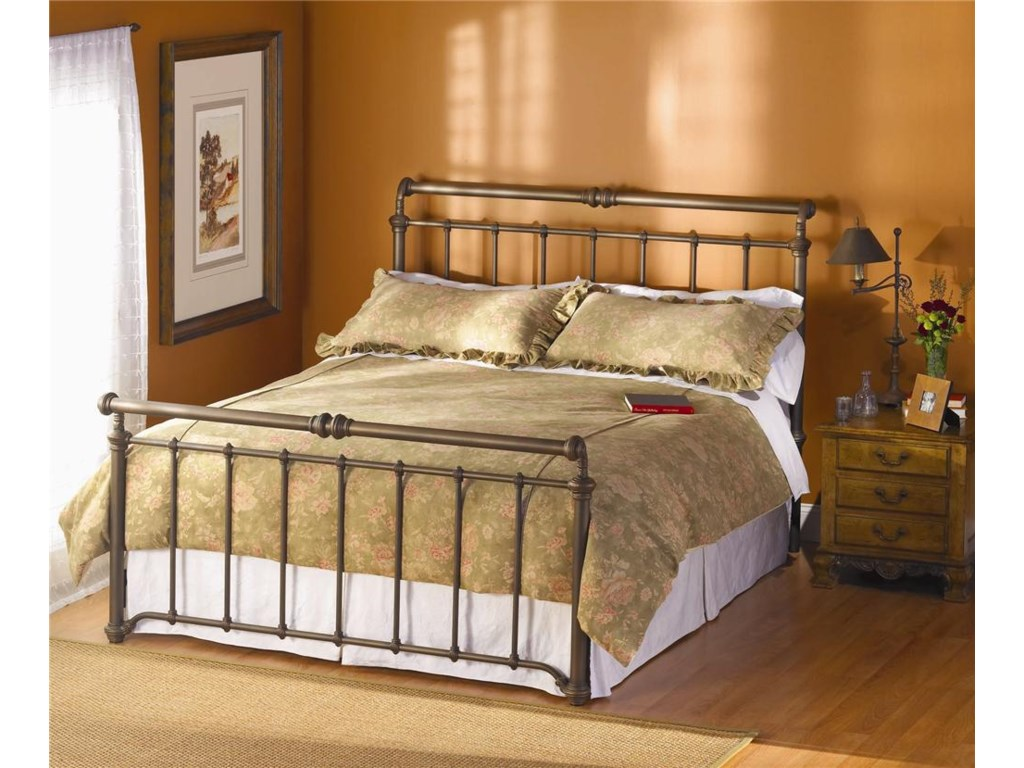 Morris Home Furnishings Iron BedsSheffield Sleigh Bed