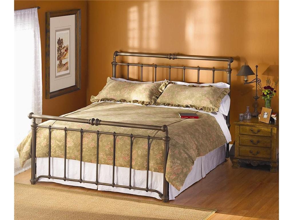 Wesley Allen Iron BedsSheffield Sleigh Bed