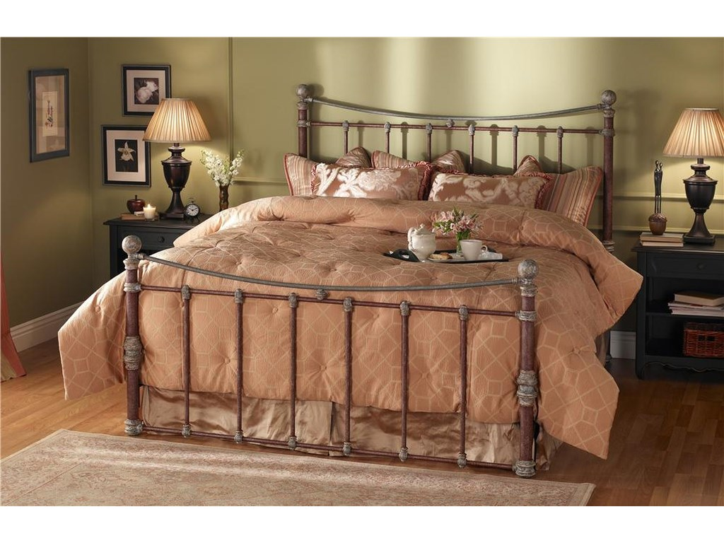Morris Home Furnishings QuatiQueen Headboard and Footboard Bed