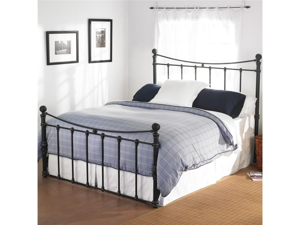 Morris Home Furnishings Quati Queen Headboard and Footboard Bed