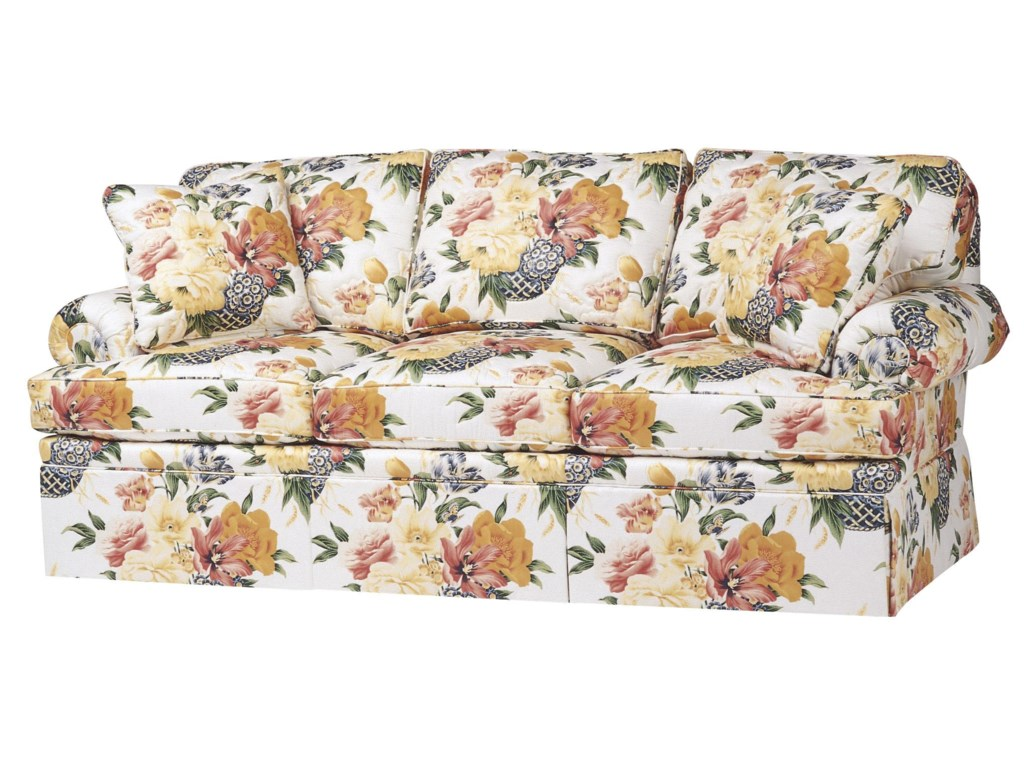 Wesley Hall 1210Stationary Sofa