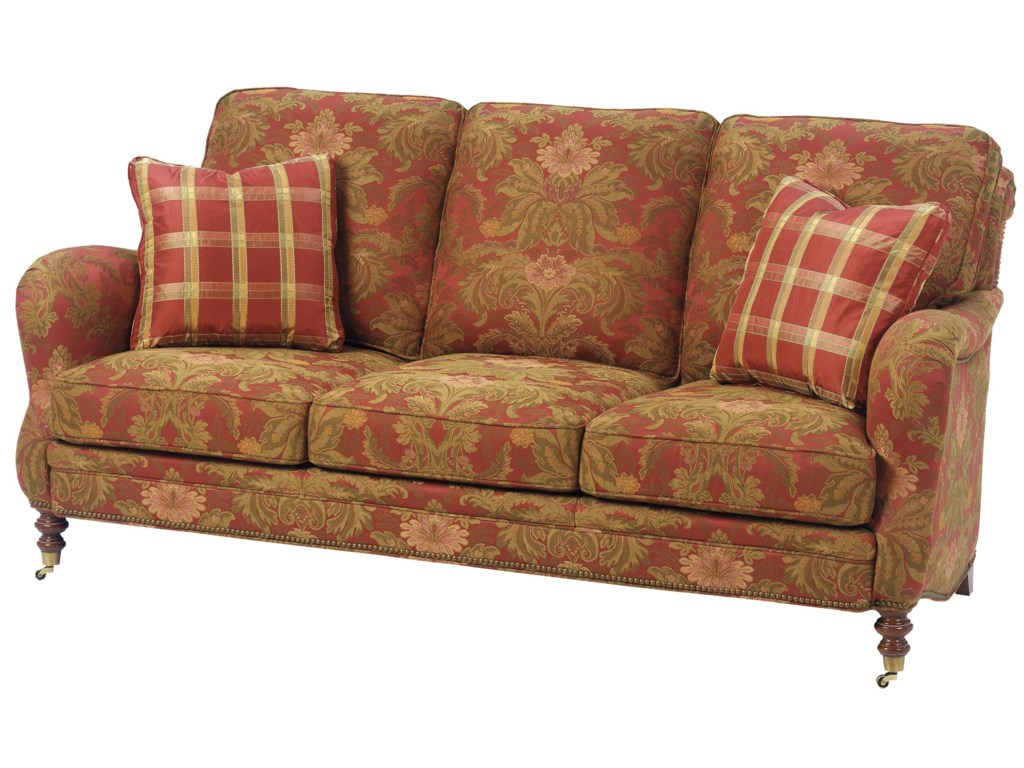 Wesley Hall 1472Stationary Sofa