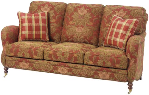 Wesley Hall 1472 Traditional Stationary Sofa