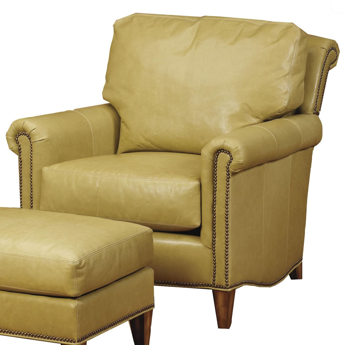 Wesley Hall Accent Chairs And Ottomans Traditional Upholstered Chair
