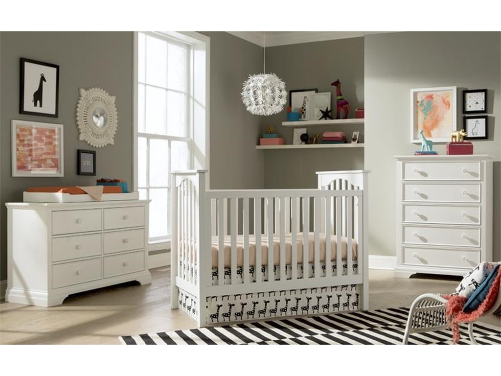 Westwood Design WyattConvertible Cottage Crib