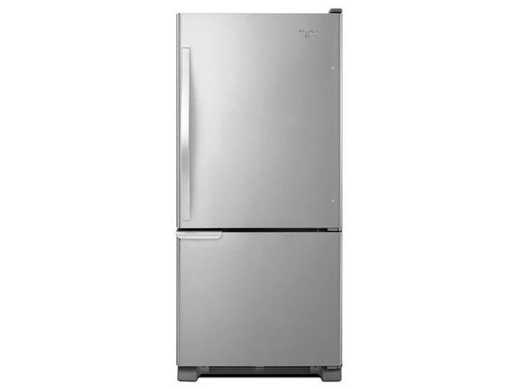 Whirlpool Bottom Freezer Refrigerators19 cu. ft. Bottom-Freezer Refrigerator with