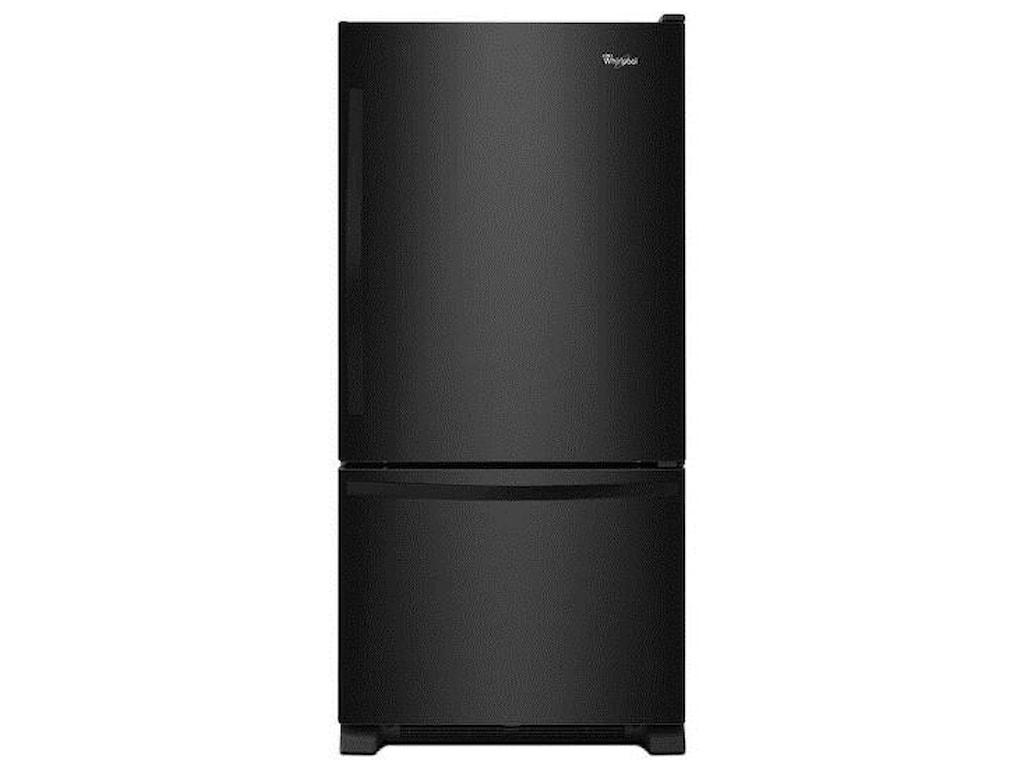 Whirlpool Bottom Freezer Refrigerators22 cu. ft. Bottom-Freezer Refrigerator with