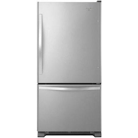 22 cu. ft. Bottom-Freezer Refrigerator with