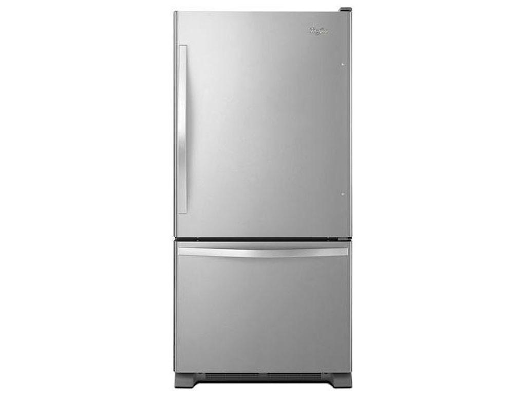 Whirlpool Bottom Freezer Refrigerators19 cu. ft. Bottom-Freezer Refrigerator with
