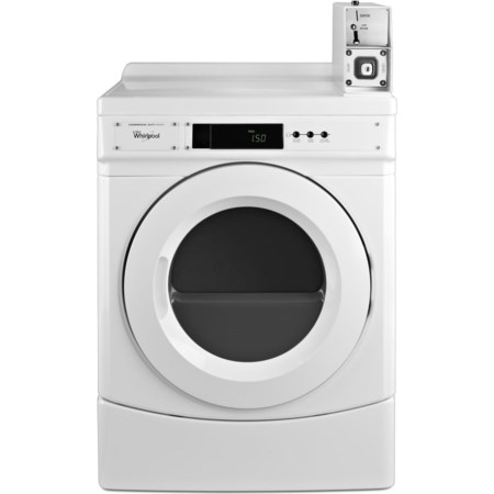 "27"" Commercial Electric Front-Load Dryer"