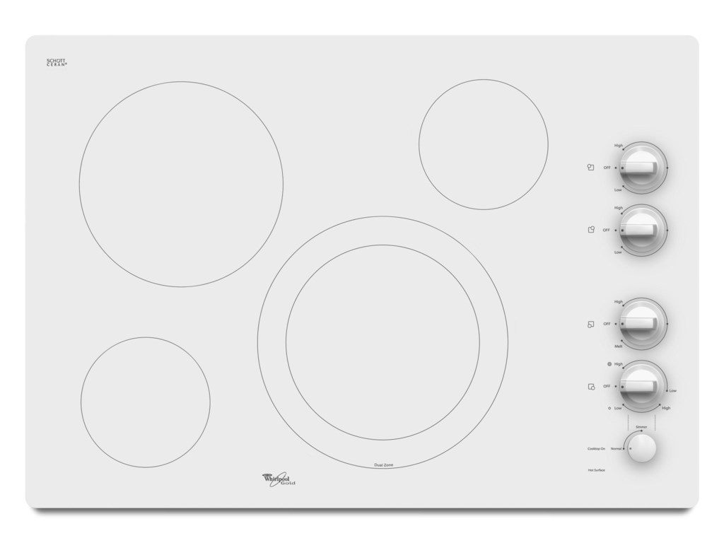 Whirlpool Electric Cooktop30
