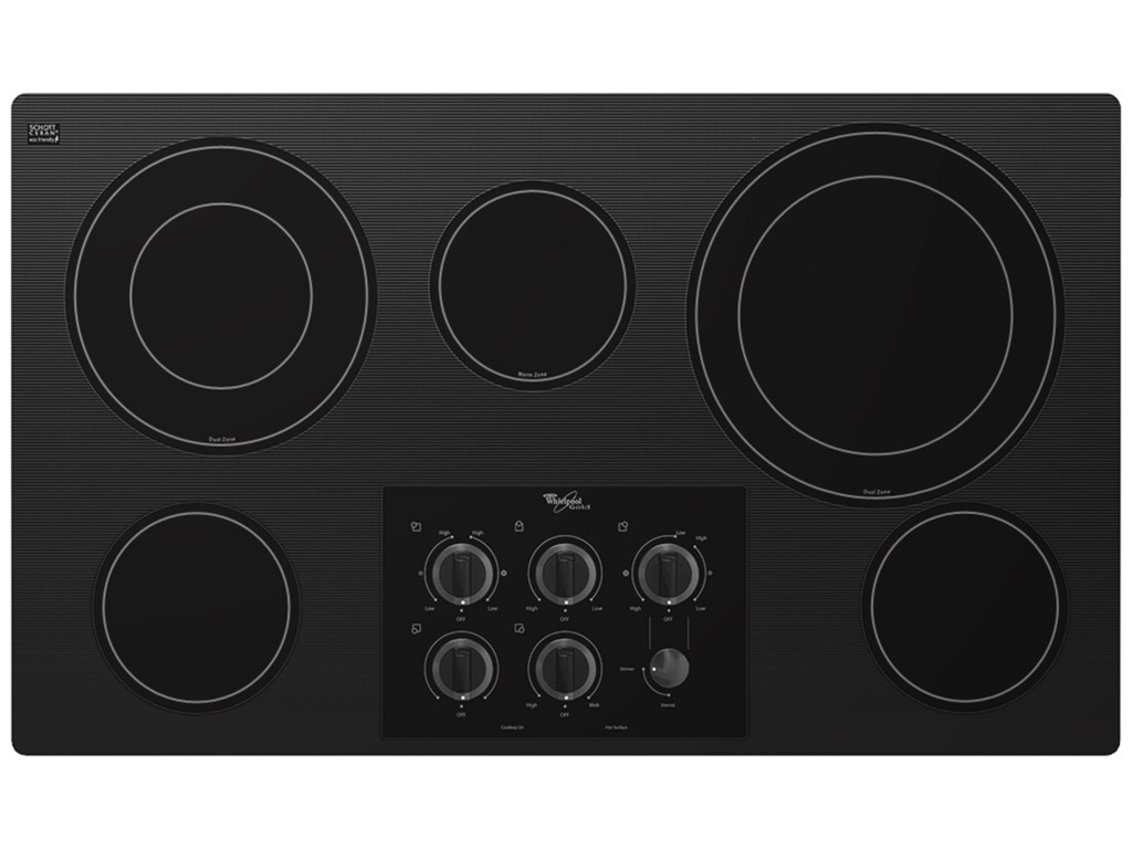 Whirlpool Electric Cooktops36