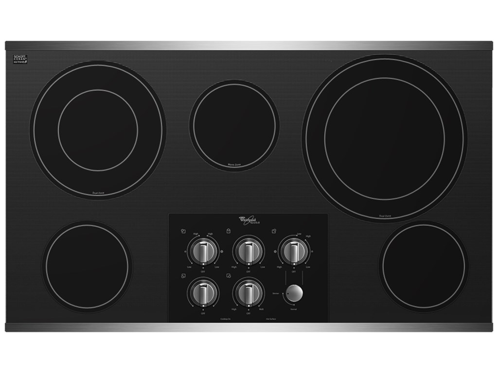 Whirlpool Electric Cooktop36