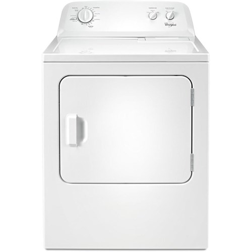 Whirlpool Electric Front Load Dryers 7.0 cu. ft. Top Load Paired Dryer with the Wrinkle Shield™ Option
