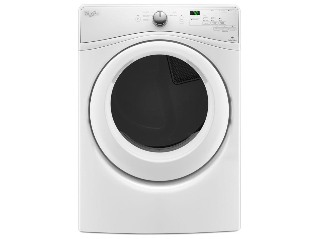 Whirlpool Electric Front Load Dryers7.4 cu. ft. Duet® Long Vent Electric Dryer