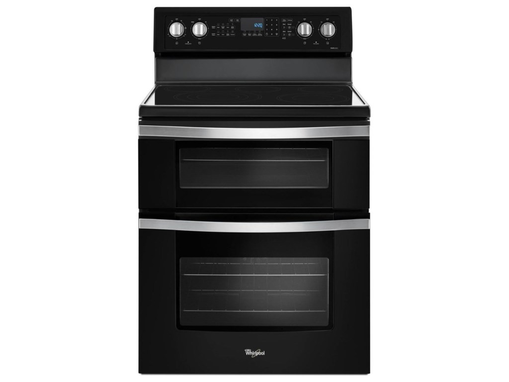 Whirlpool 67 Cu Ft Electric Double Oven Range With True