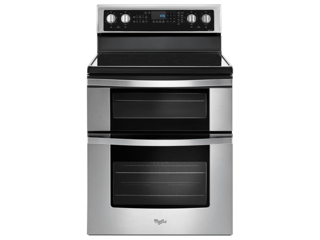 Whirlpool Electric Ranges6 7 Cu Ft Double Oven Range With